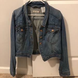 Levi crop Jean jacket